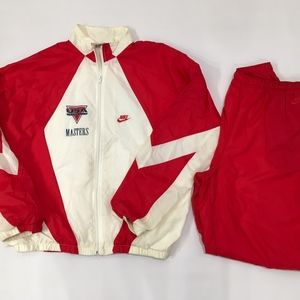 Vintage Nike USA Track And Field Masters Tracksuit